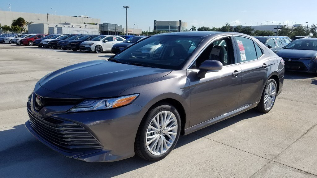 New 2020 Toyota Camry XLE