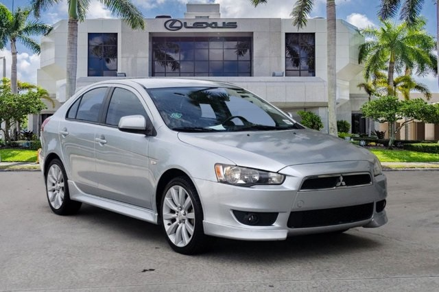 Pre-Owned 2010 Mitsubishi Lancer Sportback GTS