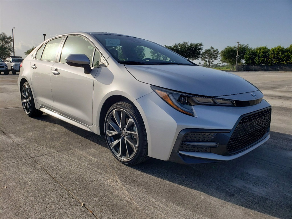 new 2021 toyota corolla se 4d sedan in miami t21692